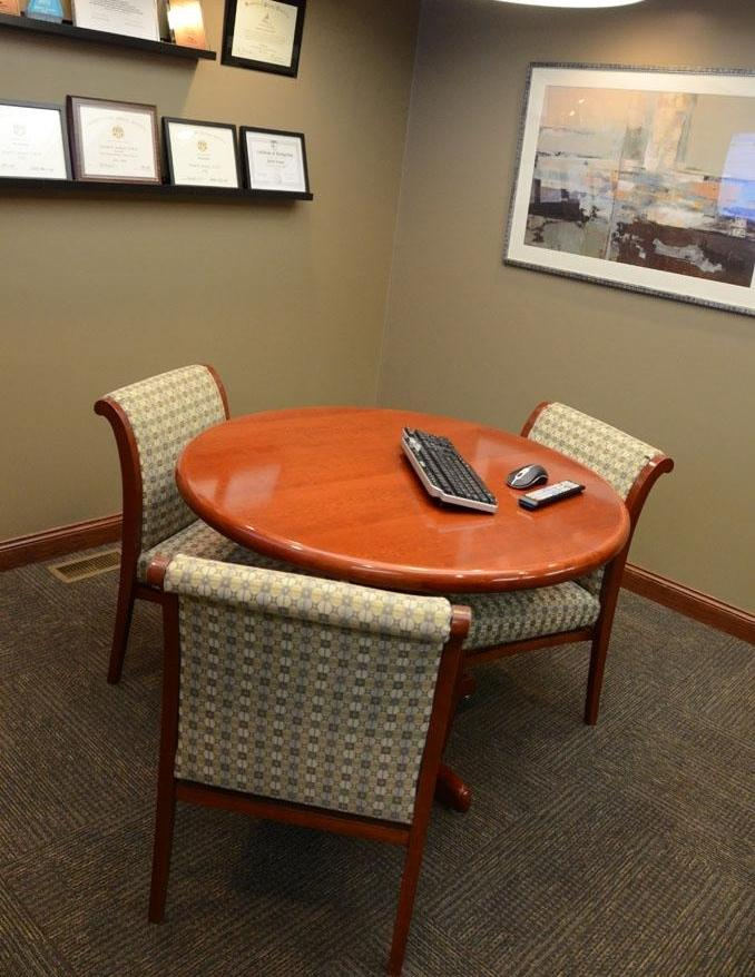 image of the office consultation room | Moline IL