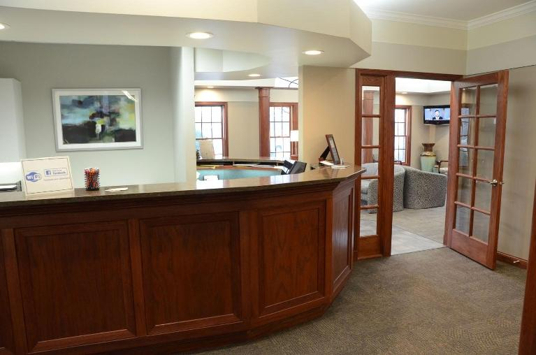 image of the office front desk | Moline IL