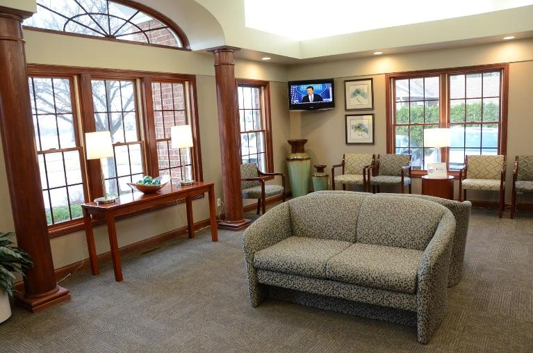 image of the office waiting area | Moline IL