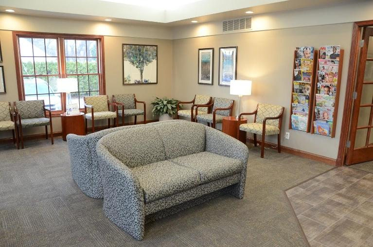 image of the office waiting room | Moline IL